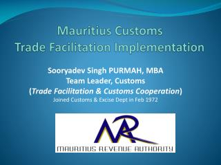 Mauritius  Customs  Trade Facilitation Implementation