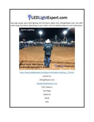Stadium Lights   LED Light Expert