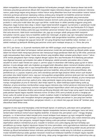 Dana Serta Limitasi Jasa Pembuatan Pt Pma Di Indonesia