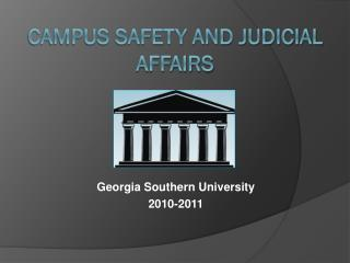 Campus Safety and Judicial Affairs