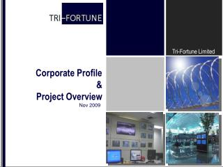Corporate Profile  & Project Overview