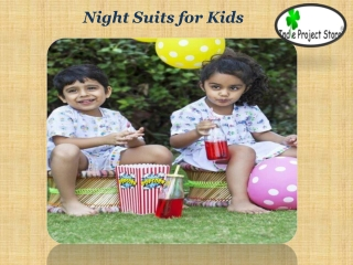 Night Suits for Kids
