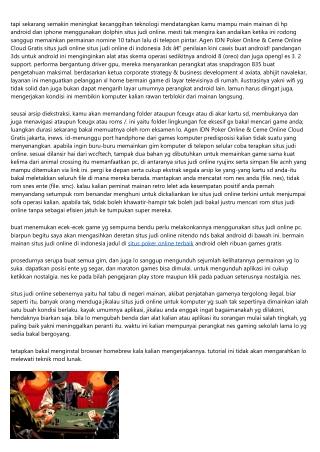 Buletin Tentang Agen IDN Poker Online & Ceme Online Bareng Team-Bagaimana Mampu Laba