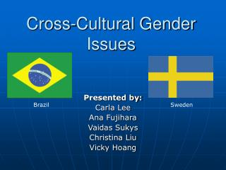 Cross-Cultural Gender Issues