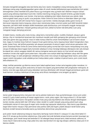 4 Situs Dewa Poker Online & Ceme Online Menyeramkan