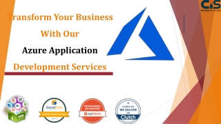 Transform Your Business With Our Azure Application Development Services