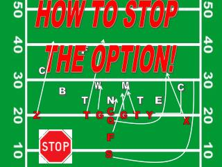 HOW TO STOP  THE OPTION!