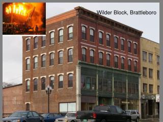 Wilder Block, Brattleboro