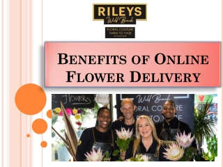 Benefits of Online Flower Delivery