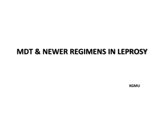 Report on Status of Leprosy Elimination Global, Regional