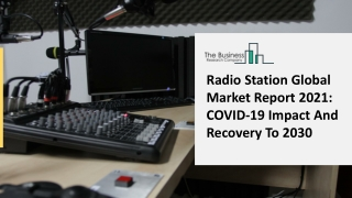 Radio Station Market Analysis By Industry Share, Types, Region And Overview 2021