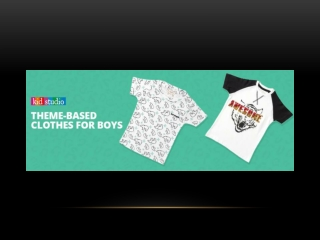 The Best Theme-Based Clothes for Boys | Kids Clothes
