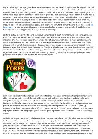 Perlu Memiliki Sumber Dana Bakal Agen Idn Poker Online & Ceme Online Android Di Pc