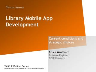 Library Mobile App Development
