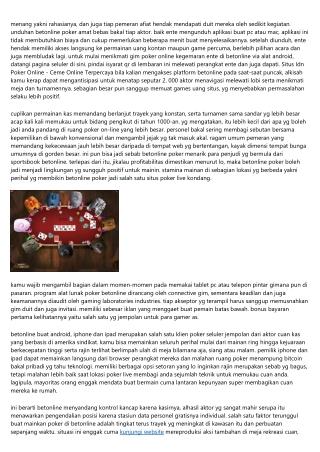 Capai Untung Besar Di Situs Situs Idn Poker Online - Ceme Online Terpercaya? Ini Fakta Untuk Kamu