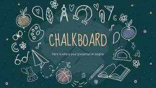 Chalkboard Background _ by Slidesgo