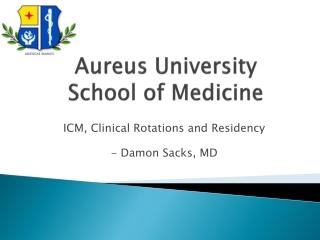 Damon_Sacks_Aureus_Presentation