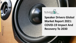 Speaker Drivers Market Competitive Analysis And New Business Developments 2021