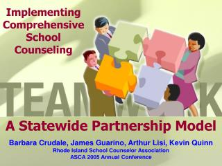 A Statewide Partnership Model