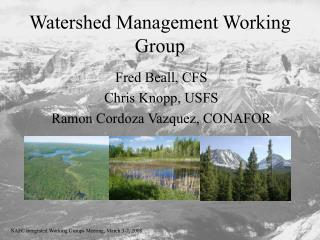 Watershed Management Working Group
