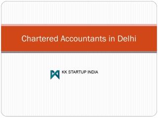Chartered Accountants in Delhi