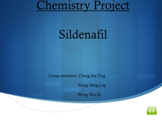 Chemistry Project Sildenafil