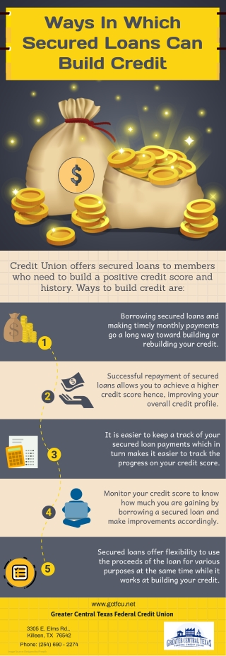 Ways In Which Secured Loans Can Build Credit