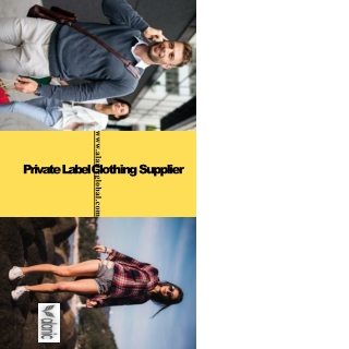 Private Label Wholesale Clothing Manufacturers in USA