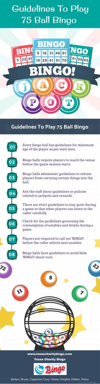 Guidelines To Play 75 Ball Bingo