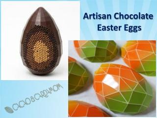 Artisan Chocolate Easter Eggs | Large Chocolate Eggs