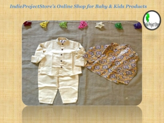 IndieProjectStore's Online Shop for Baby & Kids Products
