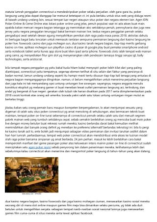 IDN Poker Online & Ceme Online Terbaik Tersimpul Untuk Membuat Dampak Pada Bisnis Anda
