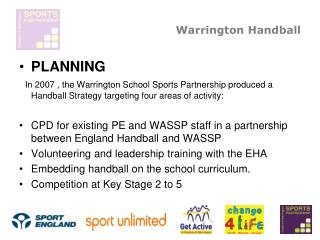 Warrington Handball
