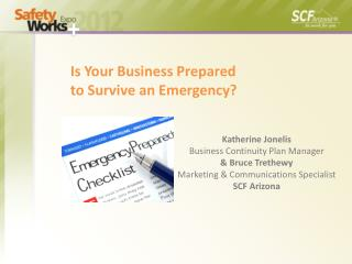 Is Your Business Prepared  to Survive an Emergency?
