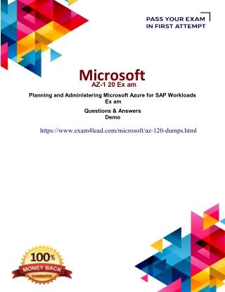 Updated Microsoft AZ-120 Real Exam Questions Answers-Microsoft AZ-120 Test Engine