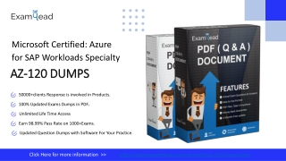 Boost Your Preparation With Microsoft AZ-120  Online Practice Software-Exam4LEad