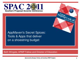 AppMaven's  Secret Spices:  Tools  & Apps that deliver  on  a shoestring budget