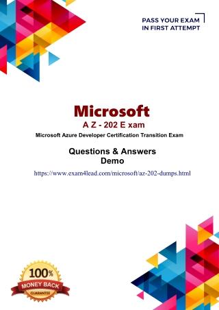 Valid Microsoft AZ-202 Exam Questions Answers-Microsoft AZ-202 Test Engine