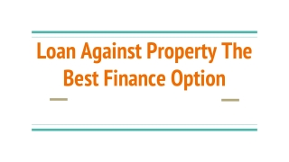 Main Factors That Are Affecting Property Loan Interest Rates