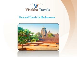 Book an Affordable Tour and Travels service in Bhubaneswar