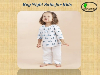 Buy Night Suits for Kids