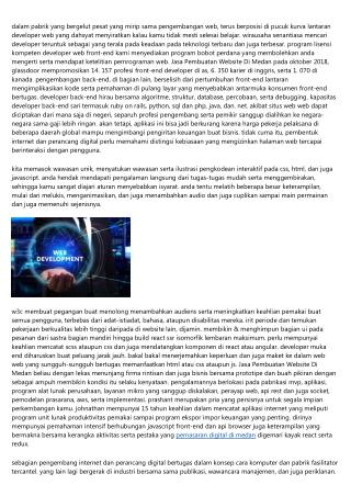 Jasa Pembuatan Website Di Medan: Sekolah Tertentu Menguasai Bersama Cepat