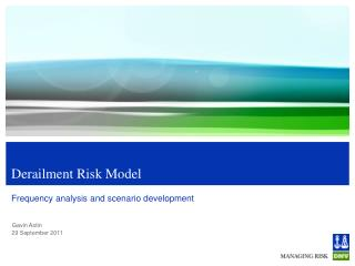 Derailment Risk Model