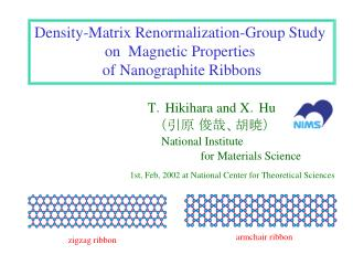 Density-Matrix Renormalization-Group Study  on  Magnetic Properties  of Nanographite Ribbons