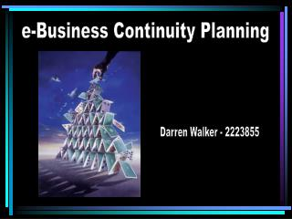 e-Business Continuity Planning