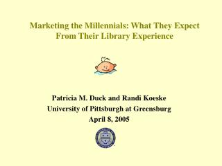 Marketing the Millennials: What They Expect From Their Library Experience