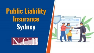Public Liability Insurance Sydney