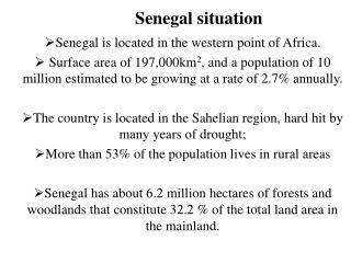 Senegal situation
