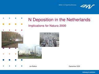 N Deposition in the Netherlands