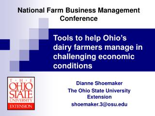National Farm Business Management Conference